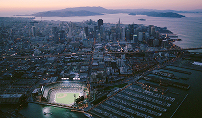 commercial new construction baseball park SF CA