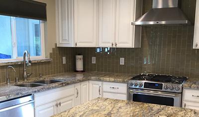 residential remodel Country white kitchen Pleasanton CA