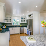 residential remodel Craftsman White Kitchen Oakland